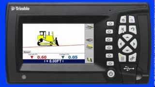 getlinkyoutube.com-Trimble GCS900 Grade Control System Lane Guidance