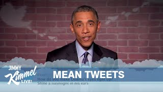 getlinkyoutube.com-Mean Tweets - President Obama Edition