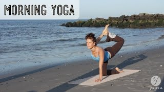 getlinkyoutube.com-Morning Yoga Routine: Blush Of Dawn (open level)