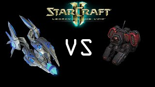 Legacy of The Void: Cyclone Vs Void Ray