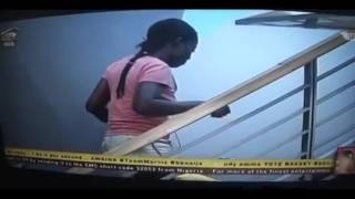 TBOSS GOES NAKED AS DEBBIE RISE PLAY PRANKS ON HOUSEMATES DAY37