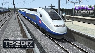 getlinkyoutube.com-Train Simulator 2017: Pioneers Edition LGV: Marseille - Avignon PC Gameplay 1080p 60fps