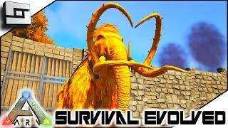 getlinkyoutube.com-MODDED ARK: Survival Evolved - ALPHA MAMMOTH! E46 ( Ark Survival Evolved Gameplay )