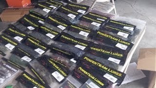 getlinkyoutube.com-$200 PowerTeam Lures Unboxing (TONS!!!!)