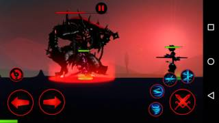 getlinkyoutube.com-League of Stickman Hunter : Hero lv.30 vs Chapter 1 Boss 4