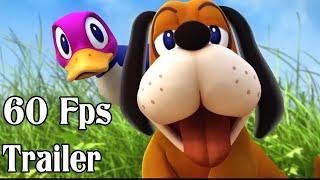 getlinkyoutube.com-Super Smash Bros 4 Duck Hunt Dog 60fps Cutscenes Trailer | Wii U and 3DS 【1080p HD】