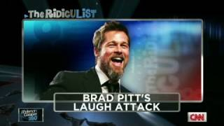 getlinkyoutube.com-Brad Pitt's giggle fit