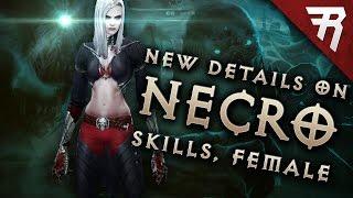 Diablo 3 Necromancer News: Skills, Gameplay, Female model, Blood Golem, PTR