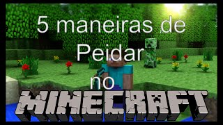 getlinkyoutube.com-5 maneiras de Peidar no minecraft