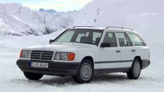 getlinkyoutube.com-Mercedes Benz S 124 300 TD 4MATIC Winter Drive