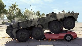 Amphibious Armored Vehicle - BTR-80 - BeamNG.drive
