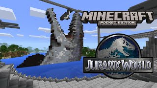 getlinkyoutube.com-Jurassic World in Minecraft Pocket Edition!