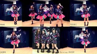 [ Galaxias! ] Aikawa Kozue, Ikura, Maam, Yuzuki. DANCEROID