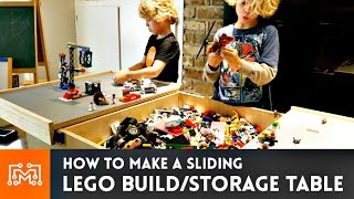 getlinkyoutube.com-Lego Build Table // How-To