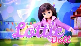 getlinkyoutube.com-Unbox Daily: Lottie Doll English Country Garden - Doll Review PLUS Pandora the Persian Cat - 4K