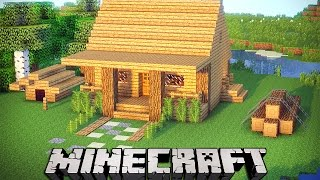 getlinkyoutube.com-MINECRAFT TUTORIAL: CASA DE CAMPO