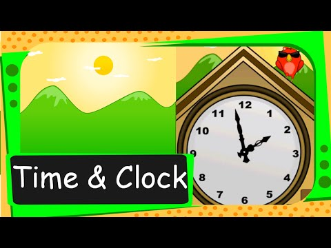 Maths - Time and Clock - English