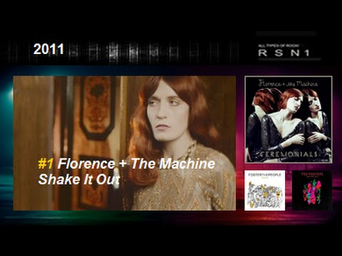 2011 top 30 the best rock and alternative songs
