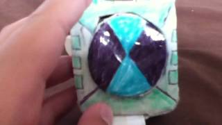 getlinkyoutube.com-Paper Ben 10 Omnitrix Touch