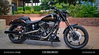 getlinkyoutube.com-Harley CVO Pro Street Breakout Test