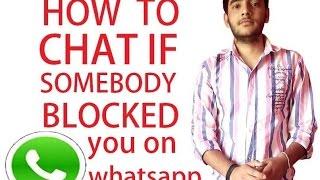 getlinkyoutube.com-whatsapp settings - How to chat if somebody blocked you on whatsapp