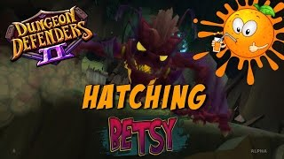 getlinkyoutube.com-Dungeon Defenders 2 Pets - Hatching Betsy!