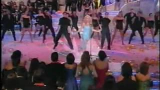 getlinkyoutube.com-Marta Sanchez ( quiero mas de ti) Nochevieja 2001
