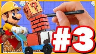 CREATING THE BEST LEVEL! - Super Mario Maker - Super Mario Maker Create Gameplay Walkthrough Part 3