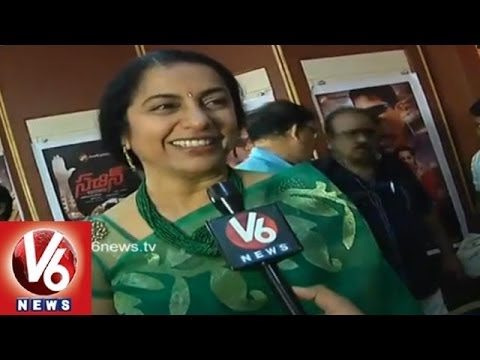 Actress Suhasini Maniratnam Face to Face in Hyderabad