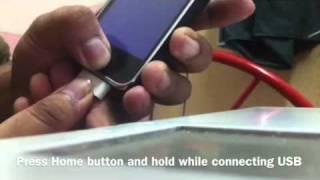 getlinkyoutube.com-How to Format/Restore iPhone while Stuck in Boot Loop
