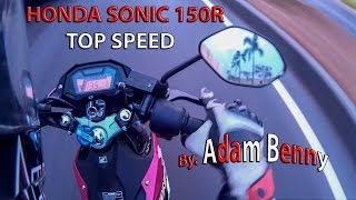 getlinkyoutube.com-HOT! Honda Sonic 150R Top Speed! By. Adam Benny