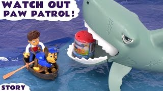 getlinkyoutube.com-Paw Patrol Mashems with Shark Thomas and Friends Toys Peppa Pig and the Playmobil Pirates Surprise