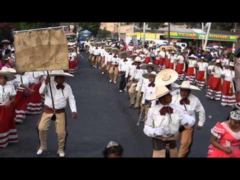 Banda Aires del Pacifico con Club Caporales San Pedro Tlahuac (AC) 2014