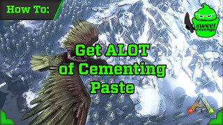 getlinkyoutube.com-ARK: Survival Evolved - How to get A LOT of Cementing Paste