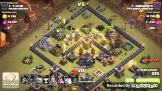 getlinkyoutube.com-Clash Of Clans - Th 9 Undefeated War Base.