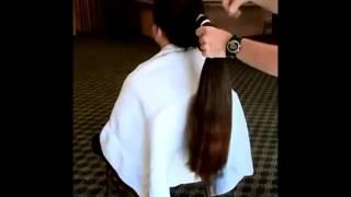 getlinkyoutube.com-Very Long to Super Short Haircut