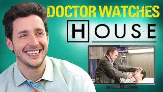 Real Doctor Reacts to HOUSE M.D. | Medical Drama Review | Doctor Mike width=