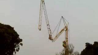 getlinkyoutube.com-Liebherr mobile tower crane