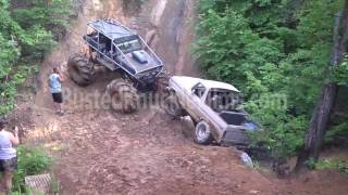 getlinkyoutube.com-Redneck Truck Recovery