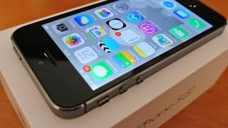 iphone 5s 16gb space grey unboxing