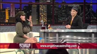 """getlinkyoutube.com-Estrella De Porno XXX Angelina Castro Entrevista con """"Nacho Camacho"""" (10-4-11) (Esta Noche Tu Night)"""