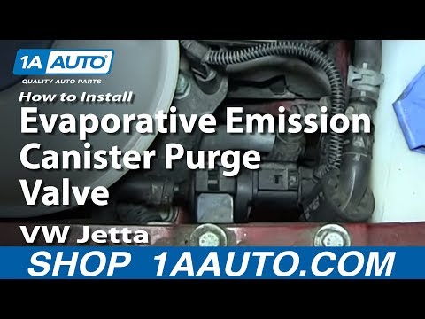 How to Replace Evaporative Emission Canister Purge 04 Volkswagen Jetta