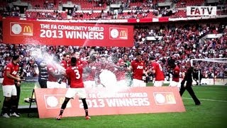 getlinkyoutube.com-Manchester United vs Wigan Athletic 2-0 Slow-Motion Highlights, FA Community Shield 2013