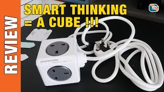 getlinkyoutube.com-Allocacoc Powercube Extended USB Mains Plug Extender Review