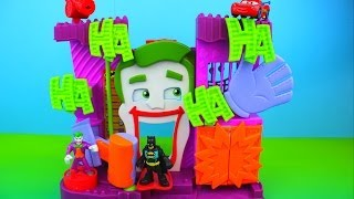 Imaginext The Joker's Fun House Joker takes Batman & SpiderCar McQueen Disney Pixar saves Batman