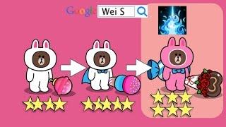 getlinkyoutube.com-LINE Rangers 3/12進化寵物:6☆粉紅甜心柯比-激怒 Lovely COBE  (Stage 192)