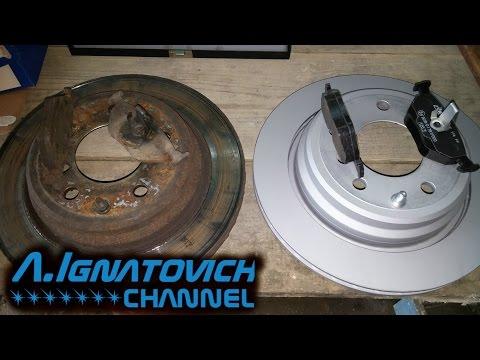 Замена колодок и тормозных дисков в БМВ Е39 своими руками