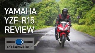 getlinkyoutube.com-Yamaha YZF-R15 Version 2.0 - ChooseMyBike.in Review