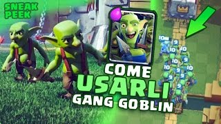 getlinkyoutube.com-GANG DEI GOBLIN - Sneak Peek - Goblin Deck Starter Pack | Clash Royale