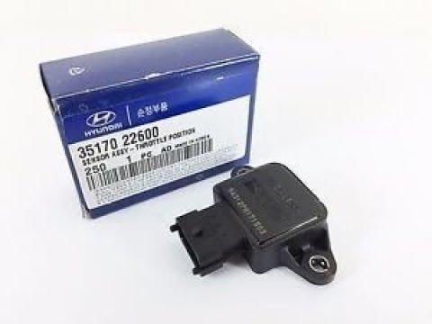 Hyundai Accent 2.(DOHC,SOHC) Датчик положения дроссельной заслонки